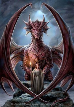 Draconic Wicca: Dragon Names - Wicca Dreamers: Dragon Wicca